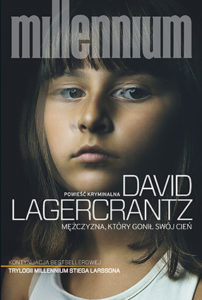 """""""Mężczyzna, którygonił swój cień"""" David Lagercrantz (Czarna Owca)"""