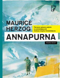 """Annapurna"" Maurice Herzog (Marginesy)"